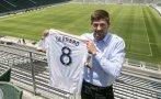 Steven Gerrard fue presentado por Los Ángeles Galaxy