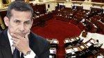Ollanta Humala y todas las veces que se enfrentó al Congreso - Noticias de gabinete rene cornejo