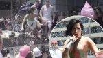 Demi Lovato sufrió fuerte caída durante show en vivo (VIDEO) - Noticias de festival rural tour huayllay