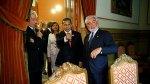 Ollanta Humala se reencontró con Vargas Llosa en sede de la RAE - Noticias de real madrid