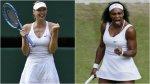 Wimbledon: Sharapova y Serena Williams chocarán en semifinal - Noticias de
