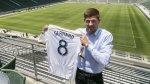 Steven Gerrard fue presentado por Los Ángeles Galaxy - Noticias de los Ángeles galaxy