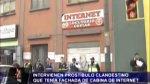 Madre e hija dirigían prostíbulo con fachada de cabina en Lince - Noticias de prostitución