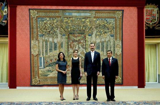 Ollanta Humala ofreció recepción para 200 invitados en El Pardo