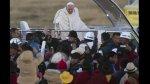 El apoteósico recibimiento al papa Francisco en Bolivia - Noticias de quinua san francisco