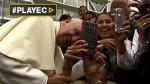Locura por selfies con el Papa Francisco [VIDEO] - Noticias de papa francisco