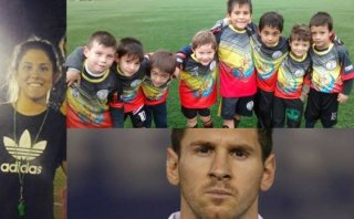 """Carta en Facebook: """"señor Messi, los niños juegan a ser usted"""""""