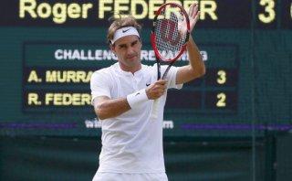 Wimbledon: Roger Federer venció a Andy Murray y jugará la final