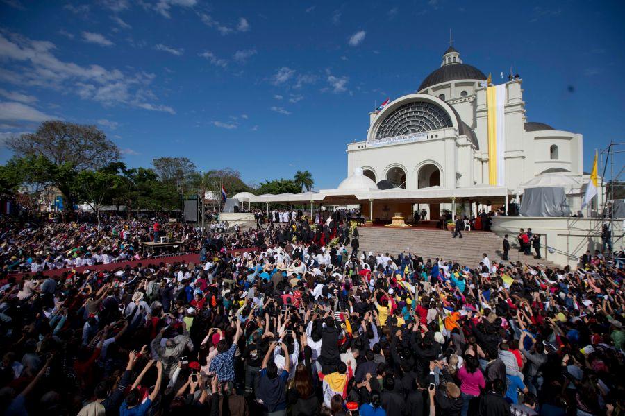 Virgen de Caacupé, patrona de Paraguay. (Foto: Reuters)
