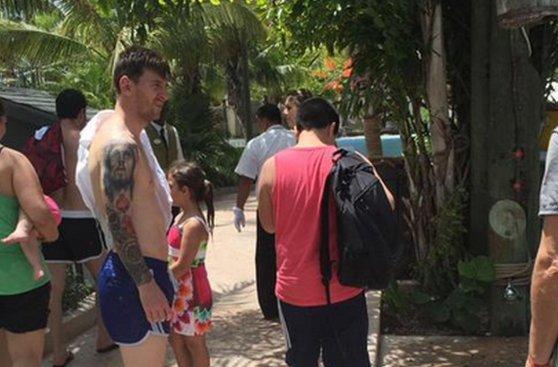 Lionel Messi: las fotos de sus vacaciones tras la Copa América