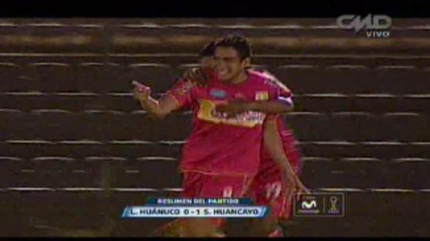 León de Huánuco perdió 1-0 ante Sport Huancayo y es colero