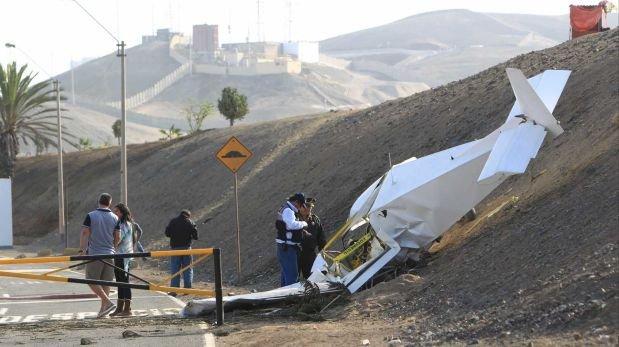 Dos heridos tras caída de avioneta en Santa María
