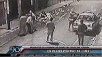 Cercado: cámara de seguridad captó asalto a empresario [VIDEO] - Noticias de jiron puno