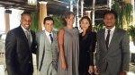 Jefferson Farfán y André Carrillo en boda de Yaco y Natalie - Noticias de sofía franco