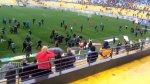 Batalla campal en la Copa Chile: suspenden Everton-Wanderers - Noticias de estadios de fútbol