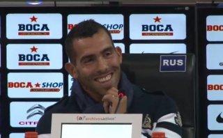 """Tevez en Boca: """"Vine para ganarle a River y salir campeón"""""""