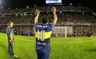 Carlos Tevez: Boca lo presentó ante 50 mil en 'La Bombonera'