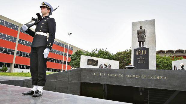 Escuela Naval Miguel Grau Seminarioobjetos que pertencieron al heroe FOTO : ROLLY REYNA / EL COMERCIO PERU