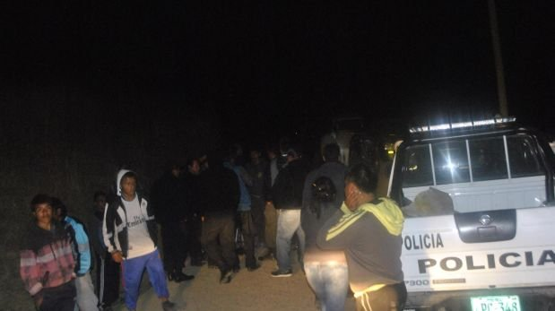 La Libertad: minivan cayó a abismo de más de 500 metros
