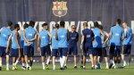 Barcelona reinició prácticas con Arda Turan, pero sin Messi - Noticias de luis suarez