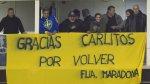 Carlos Tevez: Así fue su recibimiento en la Bombonera (FOTOS) - Noticias de la bombonera