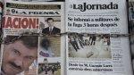 La de 'El Chapo' Guzmán y otras fugas espectaculares - Noticias de frente patriotico manuel rodriguez
