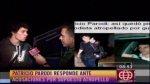 Patricio Parodi negó haber atropellado a fotógrafo (VIDEO) - Noticias de esto es guerra