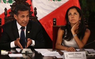 "Humala: ""Nadine Heredia no baja la guardia pese a críticas"""