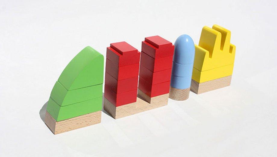 Los niños aprenderán de arquitectura con estos juguetes