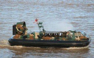 Vraem: naves anfibias Hovercraft sufrieron ataque