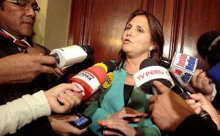 "Pérez Tello considera ""injustos"" agravios de Nadine Heredia"