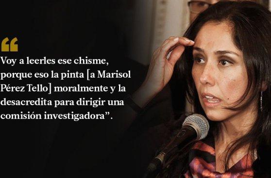 Nadine: 10 frases contra la Comisión Belaunde Lossio