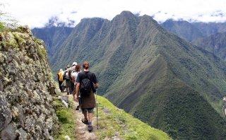 El Camino Inca es recorrido por más de 500 personas al día