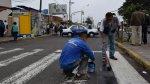 Av. Brasil: Pueblo Libre y Jesús María repintaron pistas - Noticias de biografia de sully saenz