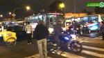 Tráfico en Av. Brasil por andamios para Parada Militar [FOTOS] - Noticias de tráfico vehicular