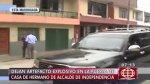 Independencia: explotan granada en casa de familia del alcalde - Noticias de evans sifuentes ocana