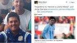 Hermano de Messi hizo retuit a nota de El Comercio sobre Leo - Noticias de jorge lavezzi