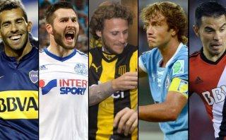 Cinco monstruos del fútbol que jugarán en continente americano