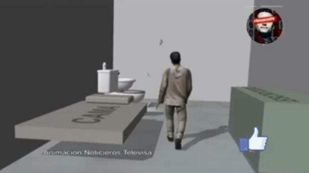 Animación recrea la fuga de 'El Chapo' Guzman [VIDEO]