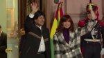 Cristina Fernández y Evo Morales inauguran monumento [VIDEO] - Noticias de evo morales