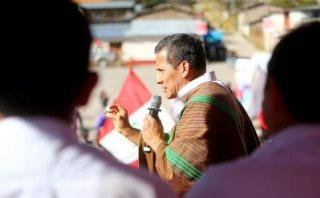 """Ollanta Humala: """"Perú dejó de ser primer productor de drogas"""""""