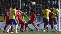 Perú cayó 4-0 ante Brasil por los Juegos Panamericanos 2015