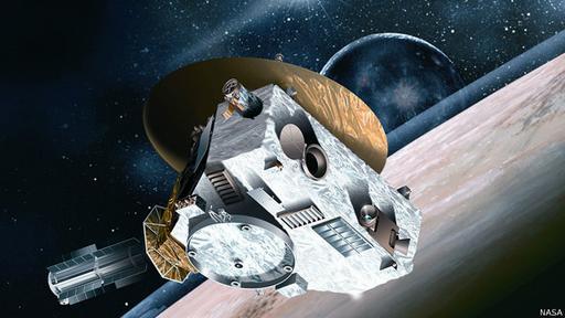 La sonda New Horizons demoró 9 años y medio en llegar a Plutón.