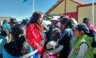 Continúa entrega de kits de abrigo en Puno, Arequipa y Apurímac