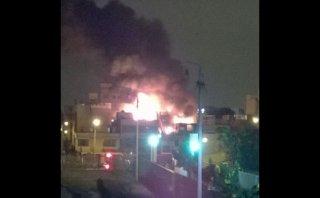 San Miguel: controlaron incendio en vivienda de calle Ayacucho