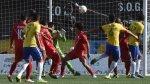 Perú cayó 4-0 ante Brasil por los Juegos Panamericanos 2015 - Noticias de penal el milagro