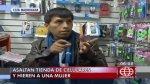 En tres minutos delincuentes robaron tres mil soles en San Luis - Noticias de manuel beingolea