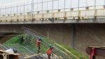 Miraflores espera abrir nuevo puente mellizo a inicios del 2016 - Noticias de tráfico vehicular