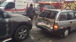 La Victoria: múltiple choque dejó 15 pasajeros heridos - Noticias de kenneth nkosi