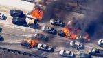 EE.UU.: Incendio forestal alcanza autopista en California - Noticias de raquel pomplun